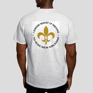 Katrina New Orleans Ash Grey T-Shirt