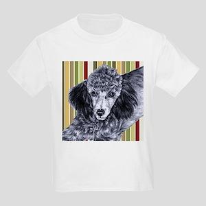 Penciled Poodle Kids Light T-Shirt