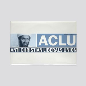 ACLU (Osama) Rectangle Magnet