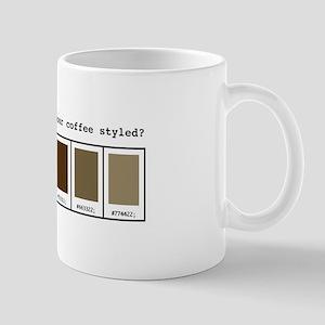 CSS Coffee Style Mug