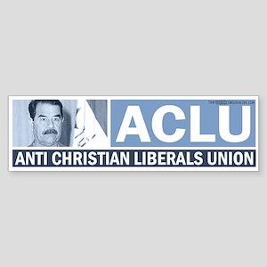 ACLU (Saddam) Bumper Sticker