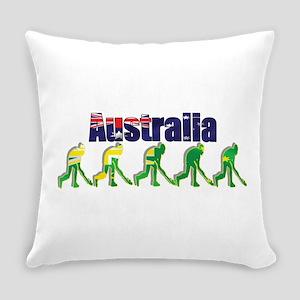 Australia Field Hockey Everyday Pillow