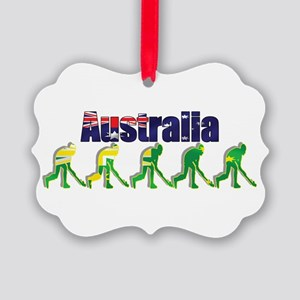 Australia Field Hockey Ornament