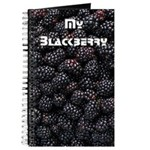 Real Blackberries Graphite & Cellulose Journal