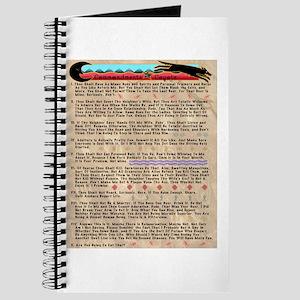 Commandments of Coyote Journal