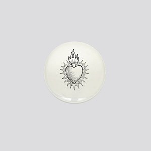 Sacred Heart Mini Button