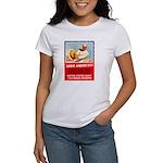 Navy Arise Americans (Front) Women's T-Shirt