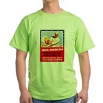 Navy Arise Americans (Front) Green T-Shirt