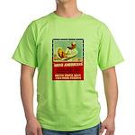 Navy Arise Americans Green T-Shirt