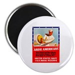 Navy Arise Americans Magnet