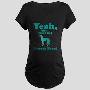 Pharaoh Hound Maternity Dark T-Shirt