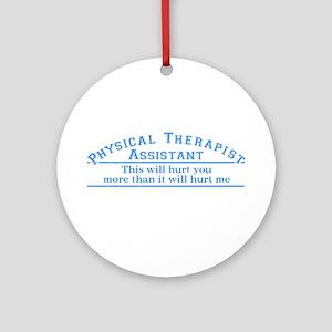 This will hurt - PTA Ornament (Round)