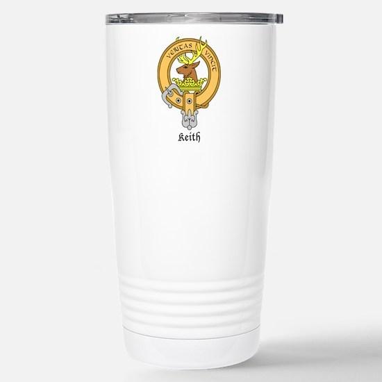 Keith Stainless Steel Travel Mug