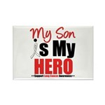 Lung Cancer Hero (Son) Rectangle Magnet (10 pack)