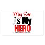 Lung Cancer Hero (Son) Rectangle Sticker 10 pk)