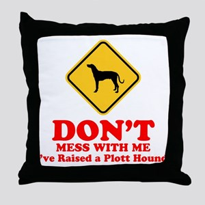 Plott Hound Throw Pillow