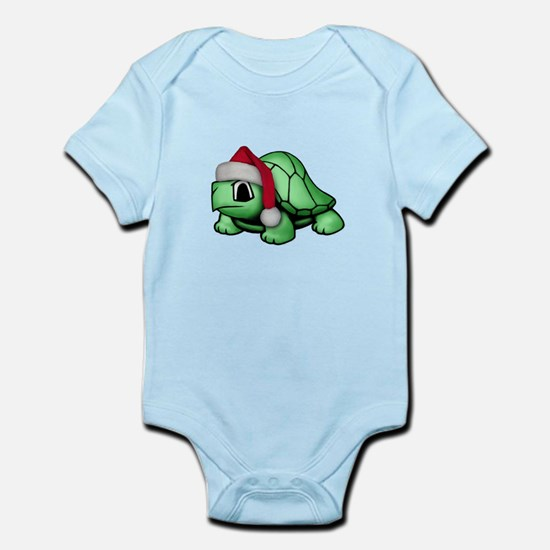 Christmas Turtle Infant Bodysuit