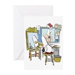What the Duck: Self Portrait Greeting Cards (Pk of