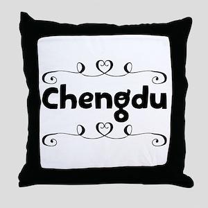 Chengdu Throw Pillow