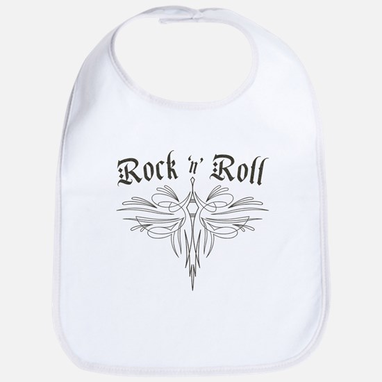 Rock n Roll Stripe Bib