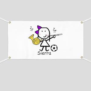 Soccer & Music - Sierra Banner