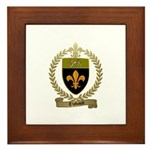 THIBAULT Family Crest Framed Tile