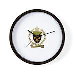 THIBAULT Family Crest Wall Clock