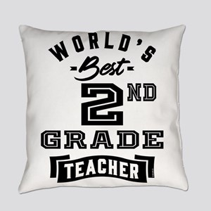 World's Best 2nd Grade Teacher - 7 Everyday Pillow