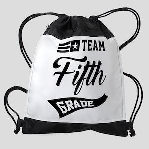 Team Fifth Grade - 63 Drawstring Bag
