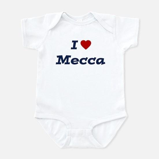 I HEART MECCA Infant Bodysuit