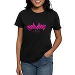 Boostgear's Hot Pink Racing - Women's Dark T-Shirt