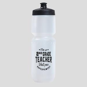I'm a 2nd Grade Teacher - 60 Sports Bottle