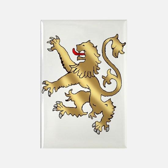 English Lion Rampant Magnets