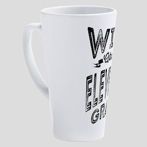 Wild About Eleventh Grade - 57 17 oz Latte Mug