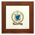 TREMBLAY Family Crest Framed Tile