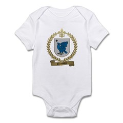 TREMBLAY Family Crest Infant Creeper