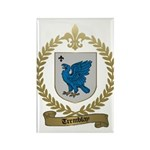 TREMBLAY Family Crest Rectangle Magnet