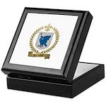 TREMBLAY Family Crest Keepsake Box