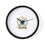 TREMBLAY Family Crest Wall Clock