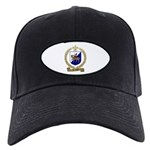 TROTTIER Family Crest Black Cap