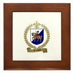 TROTTIER Family Crest Framed Tile