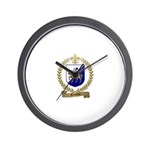 TROTTIER Family Crest Wall Clock