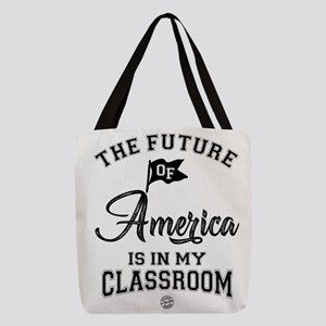 88.The future of America is in Polyester Tote Bag