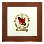 TRUDEL Family Crest Framed Tile