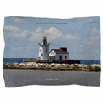 Cleveland Harbor Main Entrance Light Pillow Sham