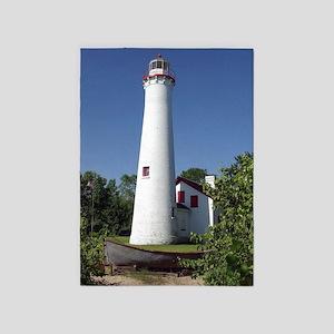 Sturgeon Point Lighthouse Tall 5'x7'area R