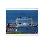 Duluth Aerial Lift Bridge Throw Blanket