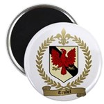 TRUDEL Family Crest Magnet