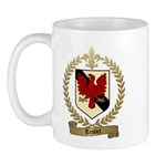 TRUDEL Family Crest Mug