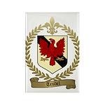 TRUDEL Family Crest Rectangle Magnet (100 pack)